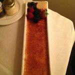 Creme brulee in my room... the best!