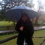 paseando por los jardines con un clima maravilloso