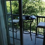 balcony in a deluxe room
