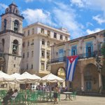 Piazza della cattedrale Avana Cuba