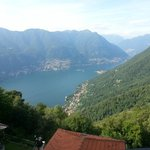 Lake Como View from Room