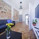 John McEnroe Apartment - Living Room