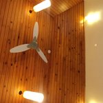 ceiling in the room