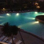 The pool in an evening!