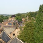 View of Winster from the roof of the clock tower. Steven will take you up there! Incredible!