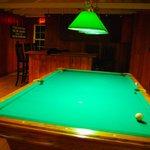 Recreation room at the Newagen Seaside Inn