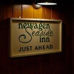 Recreation room - Old sign - Newagen Seaside Inn
