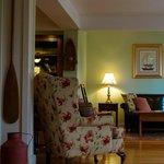 Relaxing area at the Newagen Seaside Inn