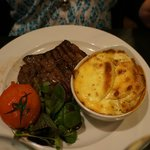 Steak with Dauphinoise Potatoes