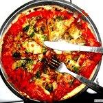 woodoven pizza...