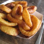 Above ordinary onion rings...