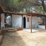 bungalow con bagno privato