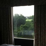 View from bed over Golf Course and Potomac