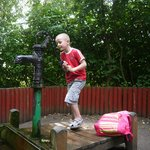 The water pump area - my kids loved this the most!