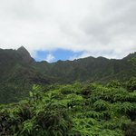 West Maui mountains from Iao Valley trail