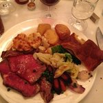 What's better than Roast Beef and a glass of Red Wine!?