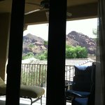 View of Camelback Mountain from the Bed