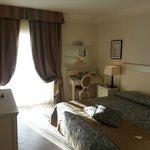 la camera della suite