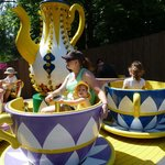 The spinning tea cups