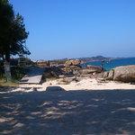 Das Pipas beach in San Vicente de O Grove