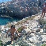 sentiero che porta alle spiagge
