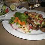 Mixed grill.