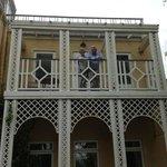 The Victorian balcony