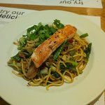 Gorgeous main - salmon noodles