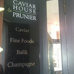 Caviar House Entrance