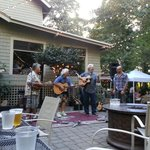 Moe Dixon & Friends on a warm summer night