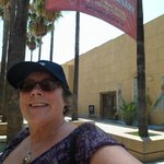 Outside Egyptian Theatre, Hollywood