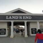 Land's End - go before it opens/after it closes and sneak a pic for free!