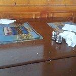 Стол в столовой
