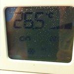 temperatura hab por la noche