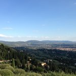 View of Florence from Fiesole town