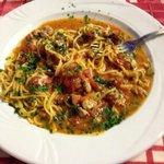 spaghetti al pesce spada