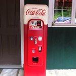 Vintage Coca Cola machine!