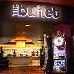 The Buffet has 250 seats and a new, all-you-can-eat menu every day