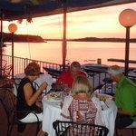 Sunset dining!
