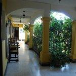 Hallways - Colonial Spanish style
