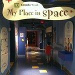 The Space exhibit