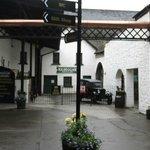 Entry to Kilbeggan Distillery