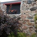 Stone Wall outside winery