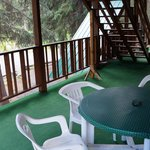 Deck outside our room