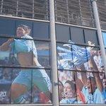 スタジアムの外壁