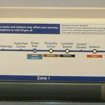 The Hotel is Near the Piccadilly Line of the Underground (Tube)