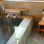 内風呂も温泉