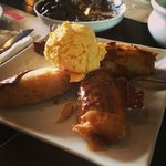 turon with ice cream