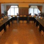 ruang pertemuan yang dulu digunakan sebagai tempat rapat tokoh nasional indonesia pertama