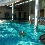 la piscina coperta della Spa